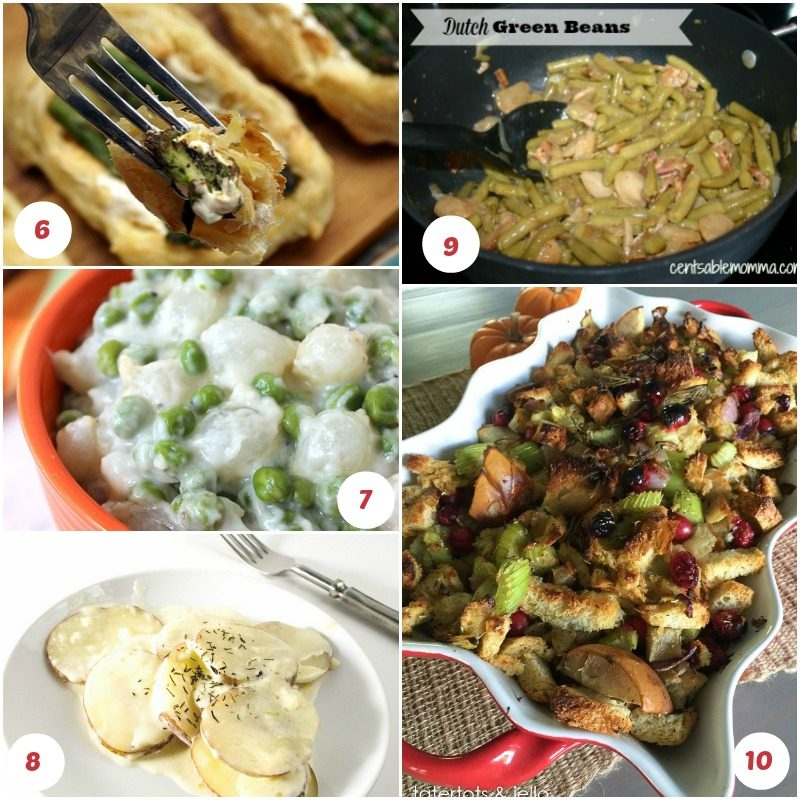 Thanksgiving side dishes are fantastic opportunity to introduce new ideas while still keeping all your family's favorites on the table. Check out 25 to try!