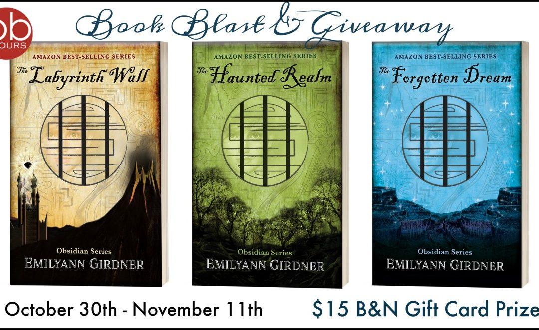 Get Lost In the Obsidian Series by Emilyann Girdner!