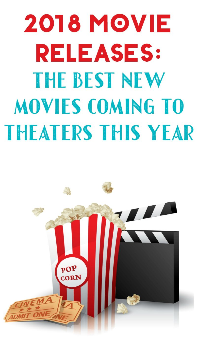 Want to plan out your movie watching schedule for the year? I've rounded up the best theatrical movie releases of 2018 for you! 2018 is looking like a great year for movie lovers! Not only do we have a ton of great sequels & reboots, but there seems to be a lot more original movies to look forward to this year than usual! It seems like the last few years were ALL reboots and franchise installments.