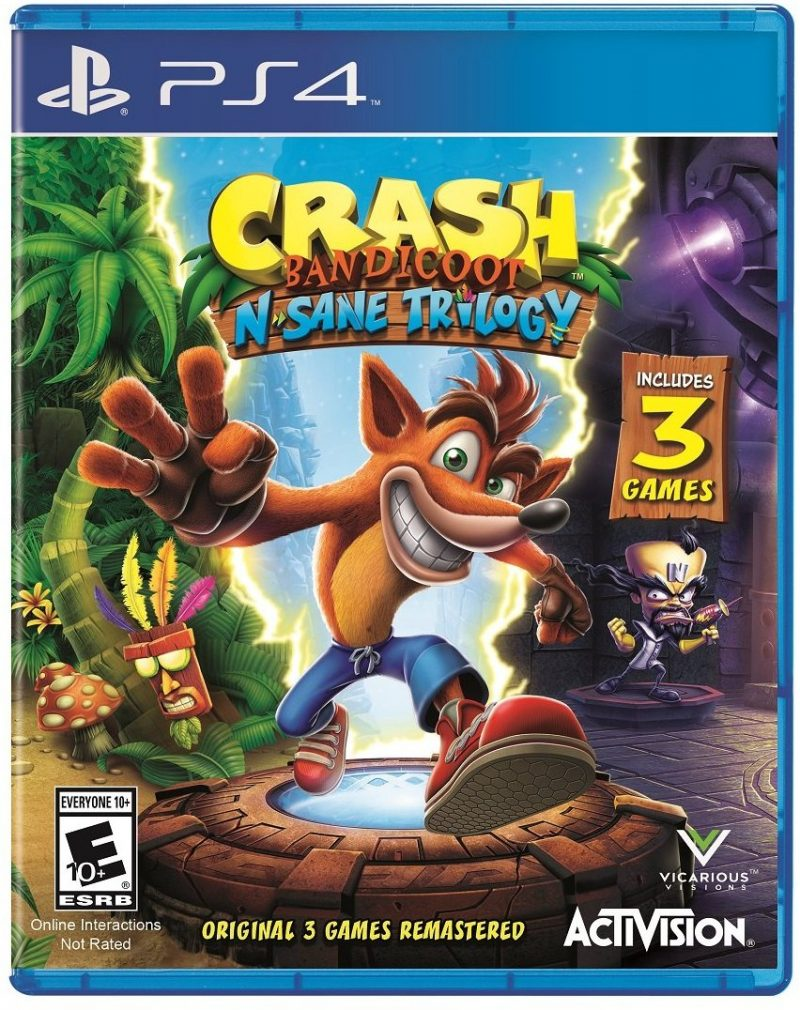Crash Bandicoot N Sane Trilogy 5 Flawless Holiday Gift Ideas for Teen & Tween Gamers