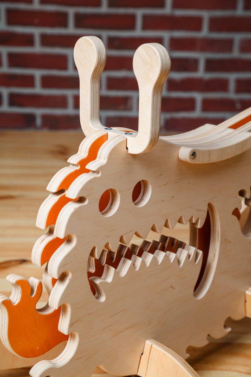 Looking for a unique gift idea for toddlers and preschoolers? They will absolutely LOVE Rocking Monsters! These amazing wooden rocking toys are so cute & clever!