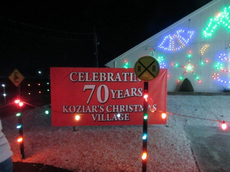 christmas may be over but the fun hasnt ended at koziars christmas village