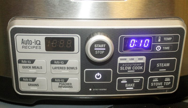 Ninja Cooking System Auto IQ review 4 of 9 Delicious Meals Made Easy with this Amazing 4-in-1 Cooking System