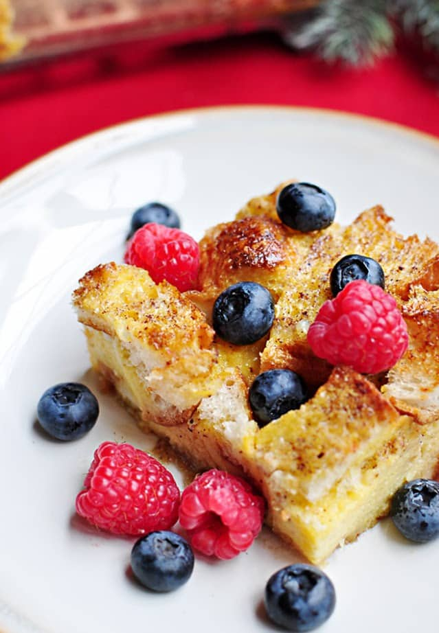 Yummy Overnight Baked French Toast Recipe for Christmas Breakfast