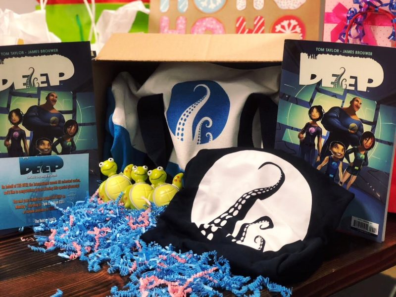 If your kids love The Deep, I have a fun giveaway for you today! One of you will win an awesome prize package filled the The Deep goodies! Keep reading to learn more about the show, plus snag a free printable full of activities to get to know the Nekton family!
