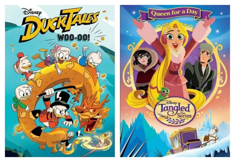 ducktales tangled printables DuckTales - Woo-oo!  & Tangled The Series: Queen for a Day Printable Activities