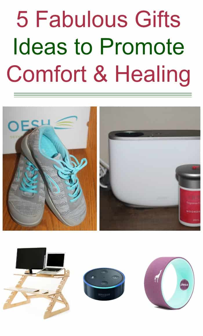 As someone who suffers from chronic pain every single day of my life, I love getting gifts that promote both comfort and healing. Whether it's a new pair of stylish sneakers that are easier on my feet or an aromatherapy gadget that helps me relax a bit, gifts like this show me that the giver knows just what I need. If you're looking for a few great gift ideas for people with chronic pain, check out some of my favorites!