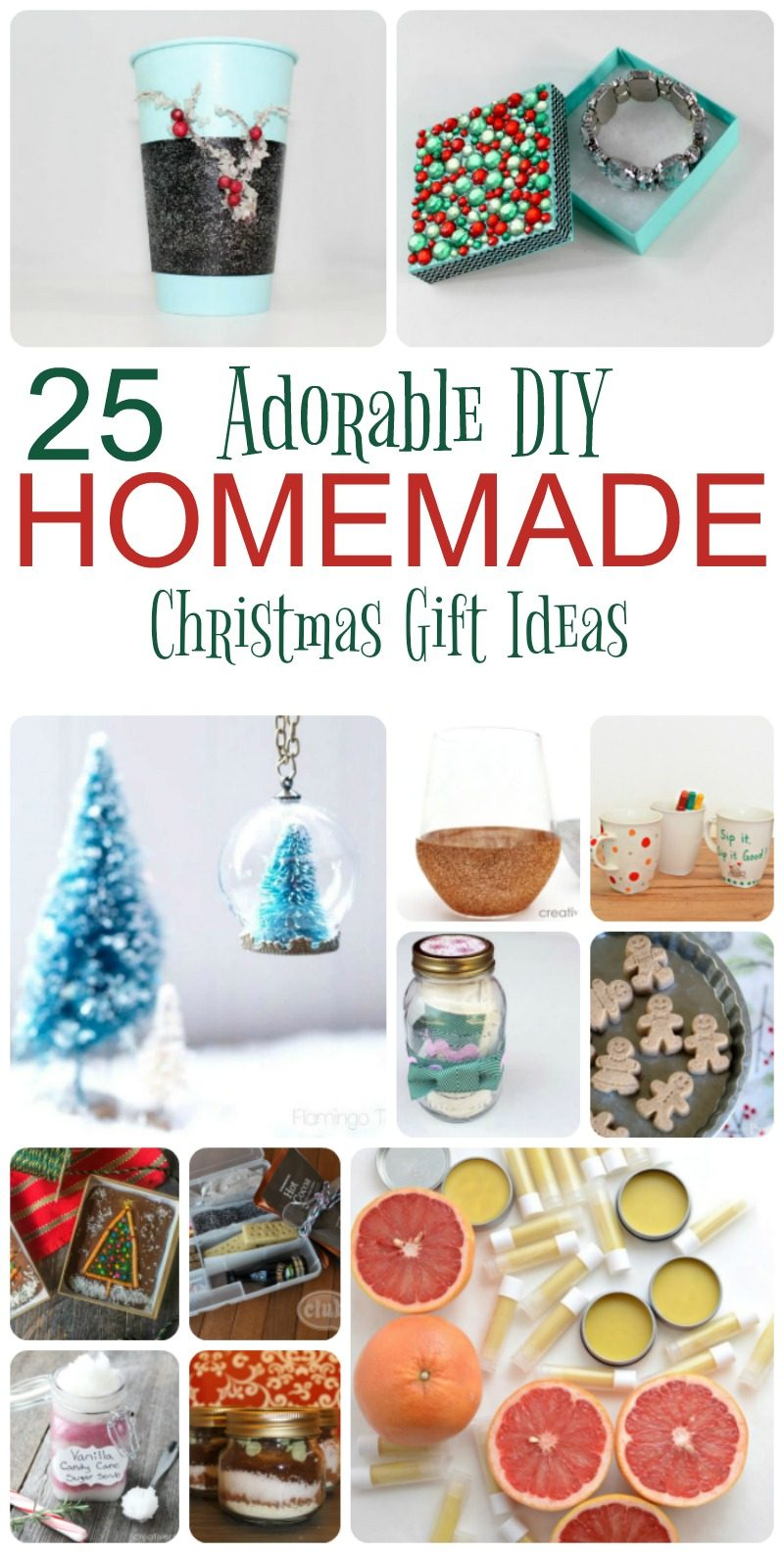 homemade christmas gift ideas 25 adorable gifts to make for pretty 31152