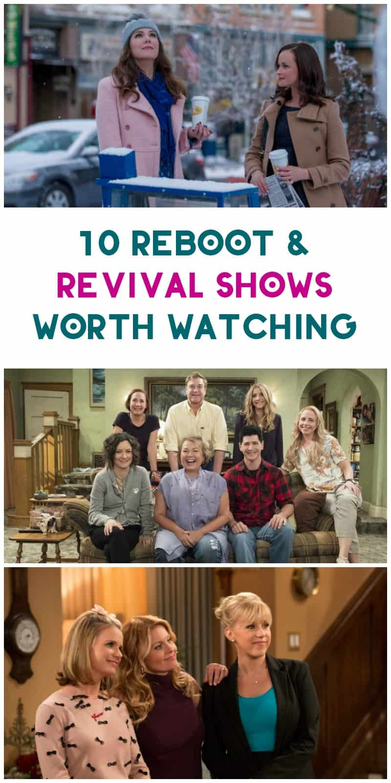 Everything old is new again, especially when it comes to revival shows! With all of our childhood favorites making a comeback, it's hard to decide what to watch first! I'm sharing my picks for 10 revival shows worth watching, along with five shows I really wish they'd bring back!