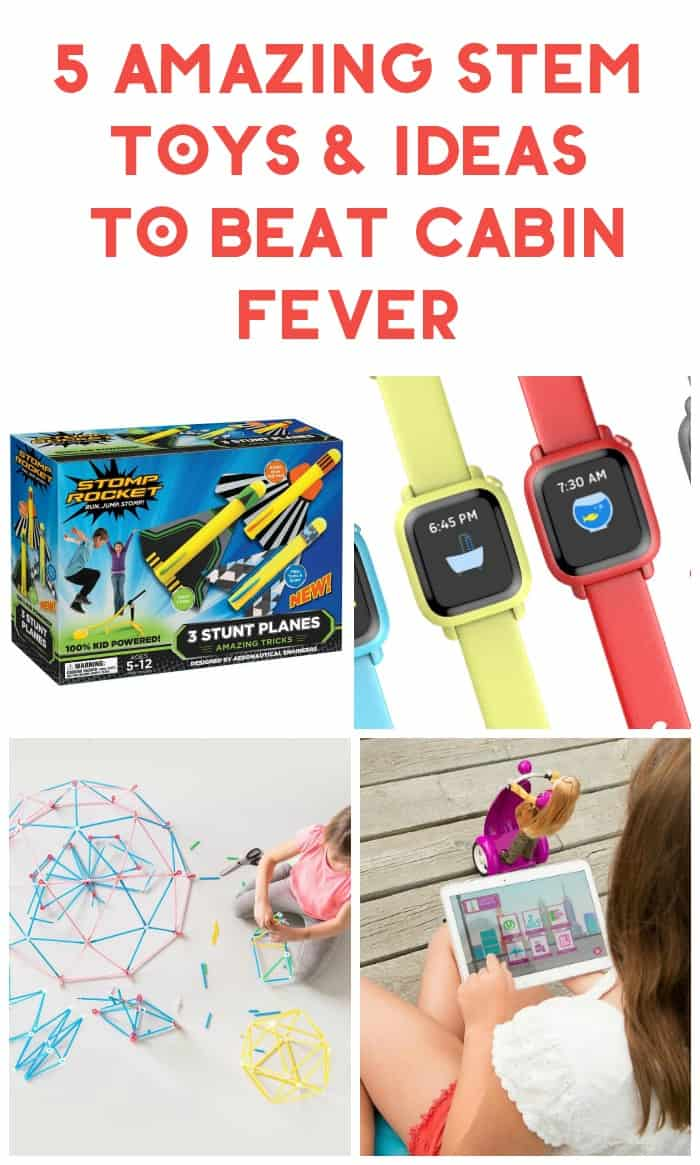 We may be experiencing a warm spell, but winter is far from over, my friends! If you're looking for some STEM creative toys and ideas to help beat cabin fever while also teaching your kids valuable skills, you'll love these! Check them out!