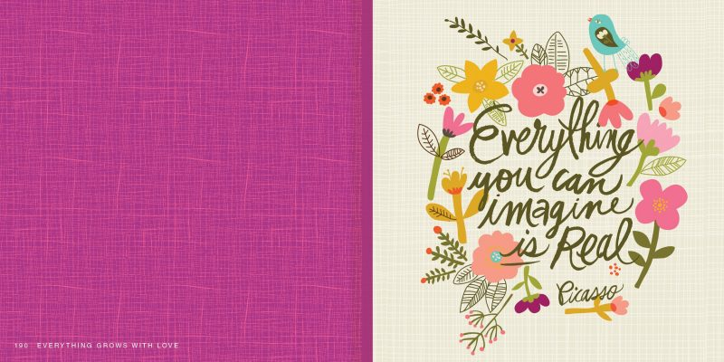 Everything Grows with love quote 1 Everything Grows With Love: A Book of Meaningful & Inspirational Quotes for Every Occasion