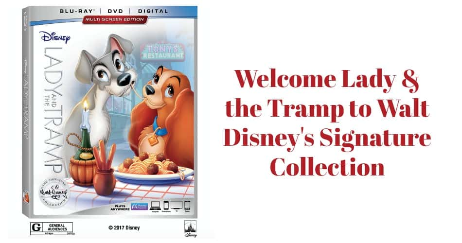 Welcome Lady & the Tramp to Walt Disney's Signature Collection (with adorable clips!)