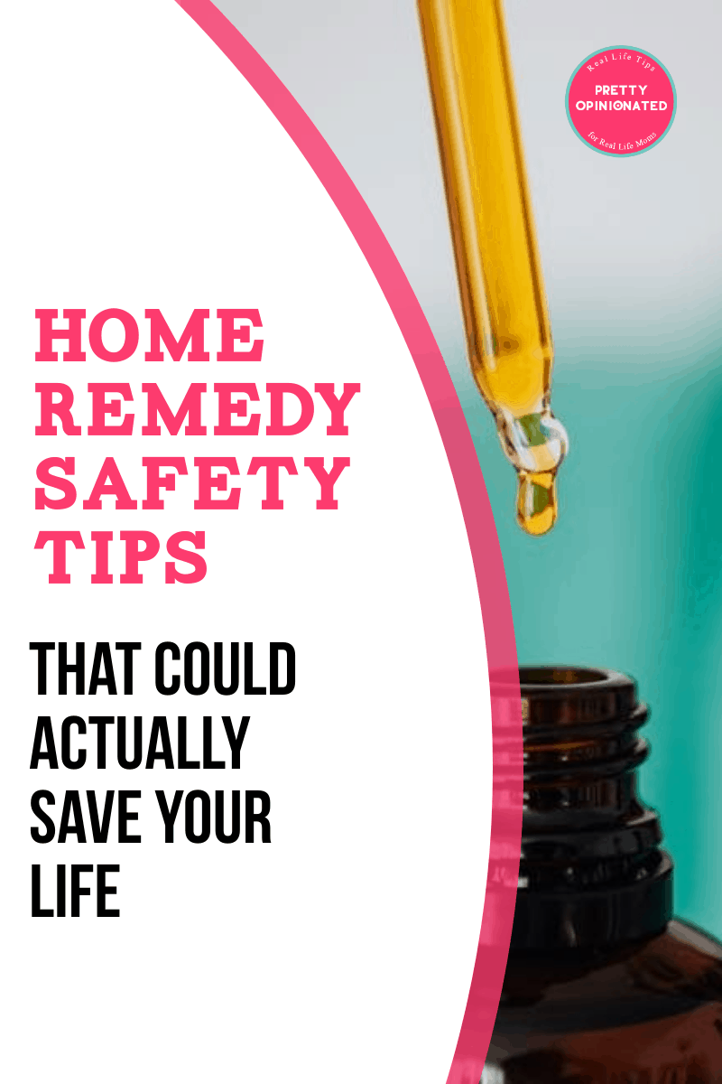 Using natural and home remedies is a great way to save money & take charge of your health, but you need to be careful! Learn how!