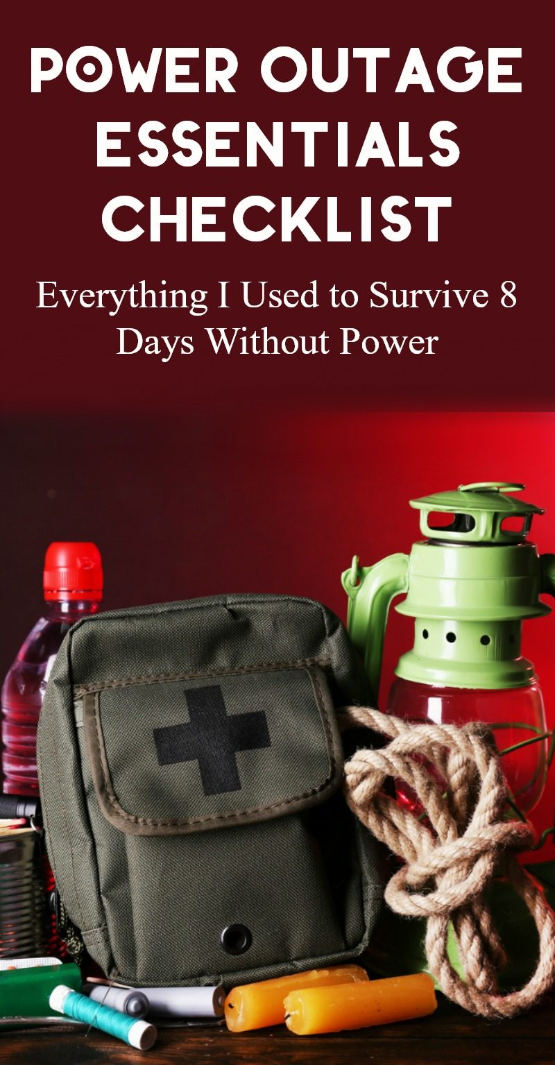 I'm sharing everything I used to survive 8 days without power, plus a few things that I'm grabbing for the next time. I suggest stocking up BEFORE the lights go out!