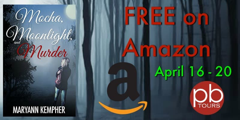Grab Mocha, Moonlight and Murder FREE on Amazon This Week!
