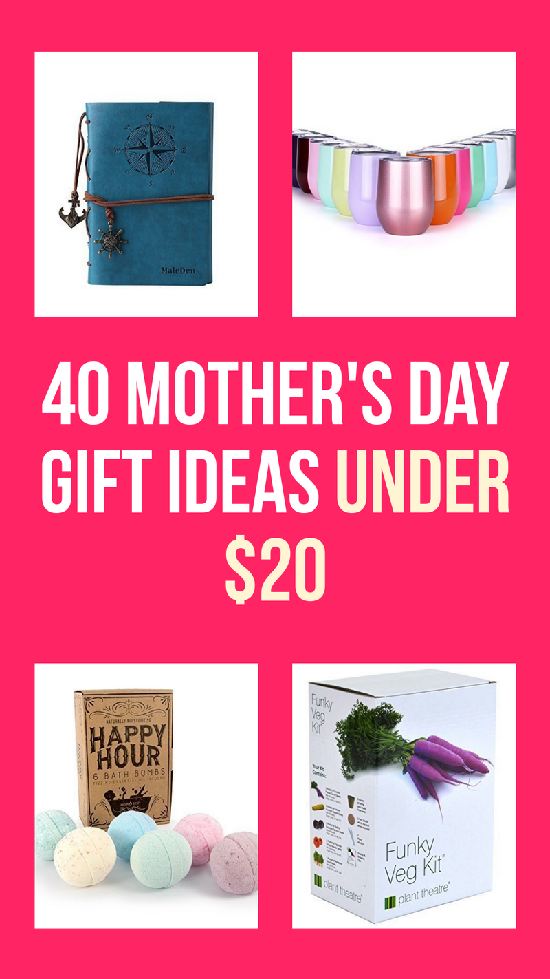 Want to get mom an amazing gift but don't really have a huge budget? I'm sharing some of my favorite Mother's Day gift ideas under $20! With something for every personality, you'll find just the right gift for your favorite mom!