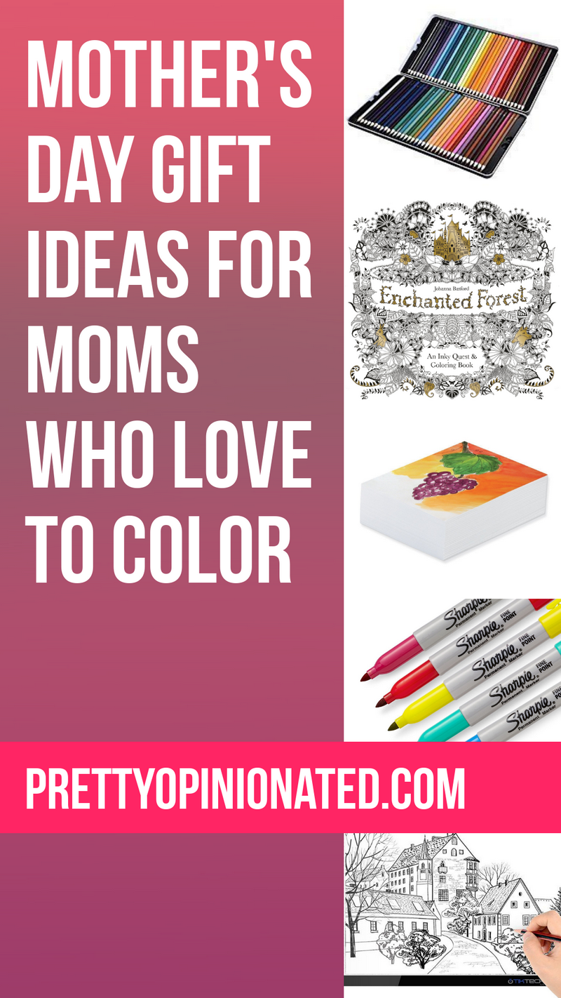 Mother's Day Gifts for Moms Who Love to Color