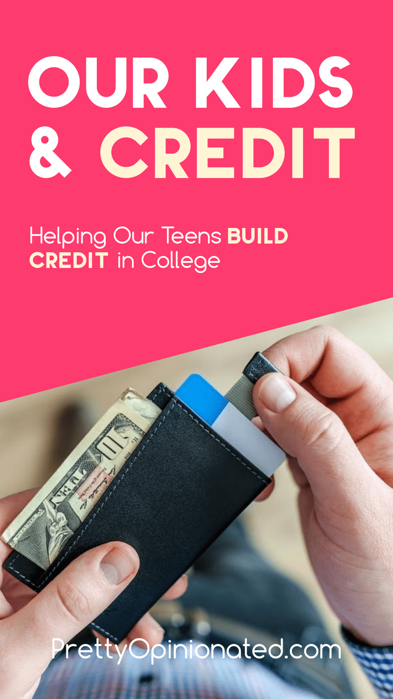 How do you help your teens get a jump start on building good credit while they're in college? Check out these simple things they can do while going to school!