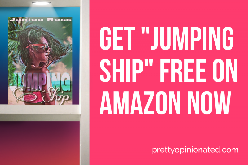 """Grab """"Jumping Ship"""" by Janice Ross FREE on Amazon!"""