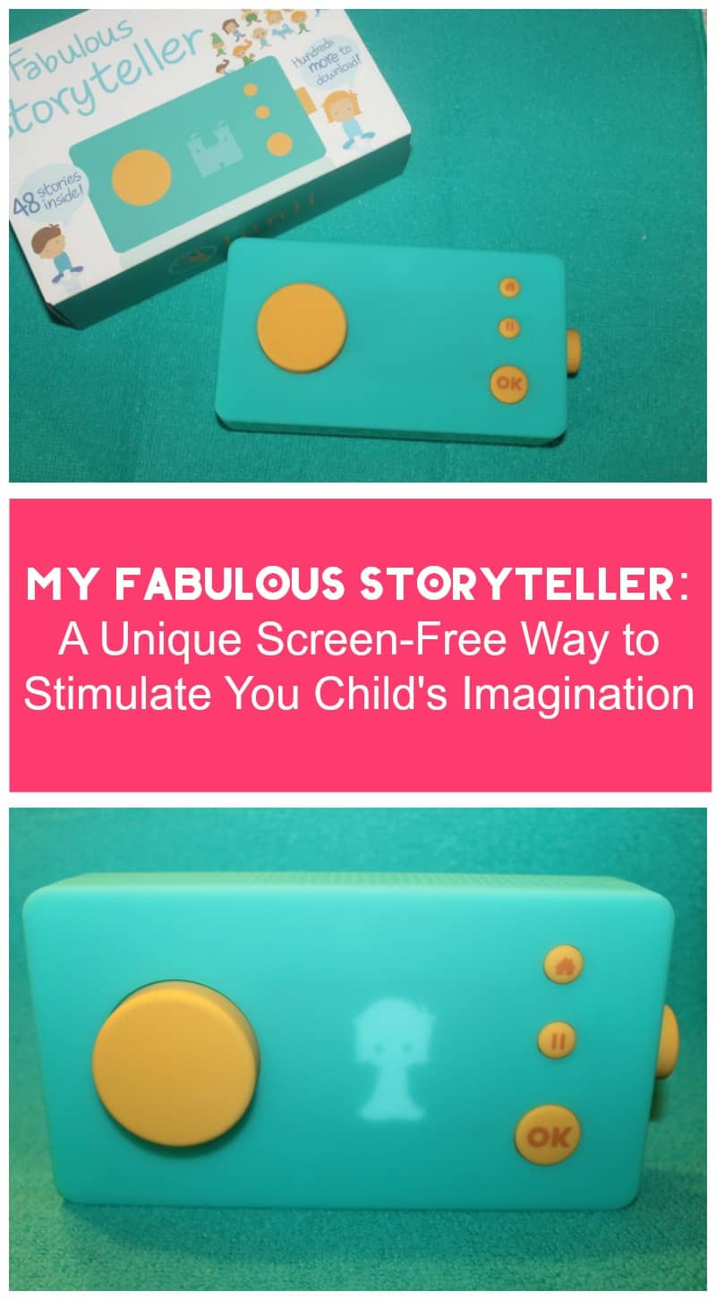 Looking for a unique screen-free gift that will help stimulate your child's imagination and encourage future writers? You're going to love My Fabulous Storyteller by Lunii! Check it out!