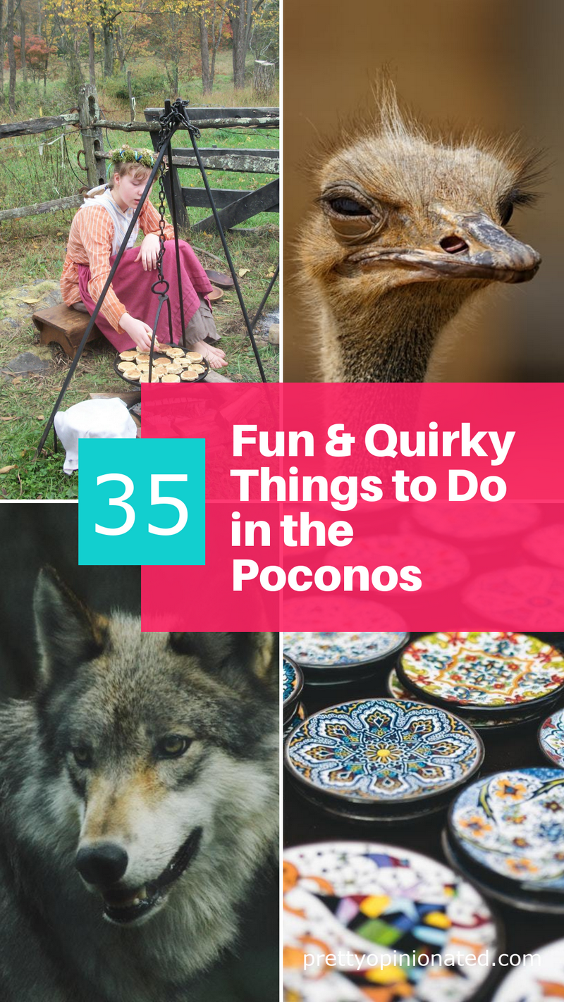"""Whether you're a lifelong resident like me, a weekend tourist, or just visiting the area for the first time, check out these 35 """"off the beaten path"""" places to explore in and around the Poconos!"""