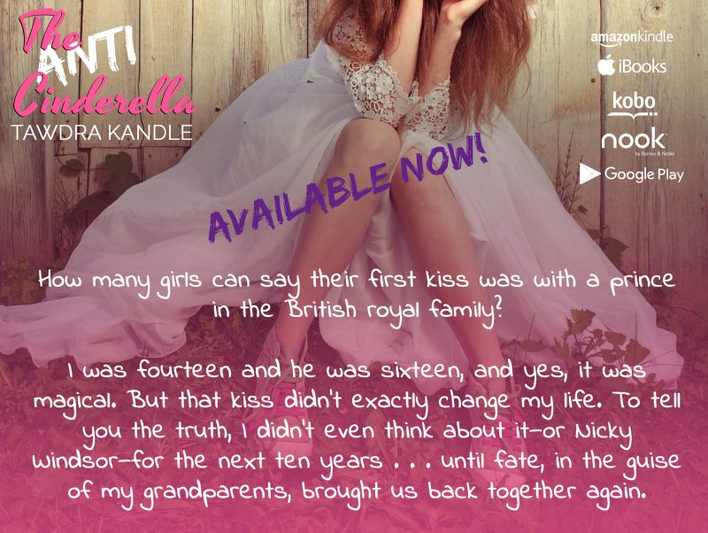 """Grab Tawdra Kandle's New Book """"The Anti-Cinderella"""" - Now Available!"""