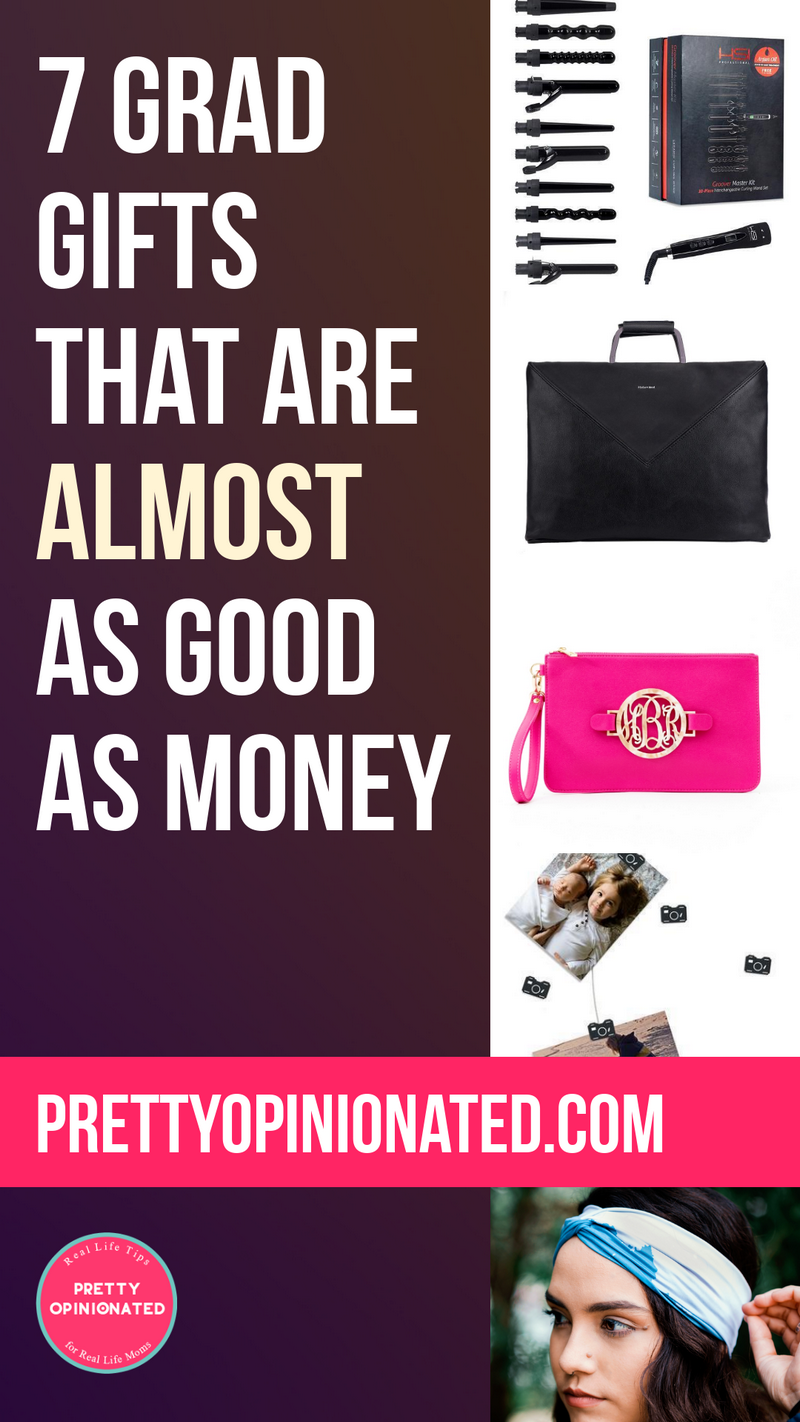 Looking for some great graduation gift ideas that are almost as good as money? While very little can top cold, hard cash, these 7 gifts come close!
