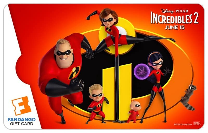 Celebrate Incredibles 2 With an Epic Fandango Bundle Giveaway (Including Gift Cards!)