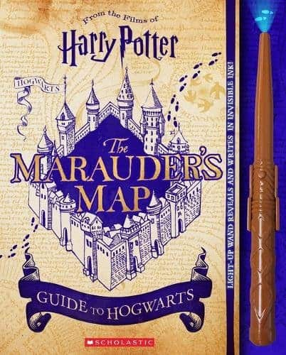 Marauders Map Guide to Hogwarts 20 Harry Potter Books Every True Fan Should Own