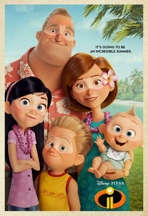 Incredibles 2 Suntan Poster- Fandango Exclusive