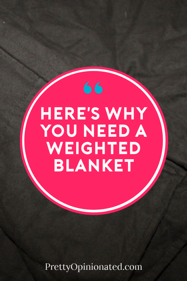 Weighted blankets are the hottest sleep trend right now, and for a good reason! Find out the benefits of these heavy blankets plus check out my favorite place to buy them!