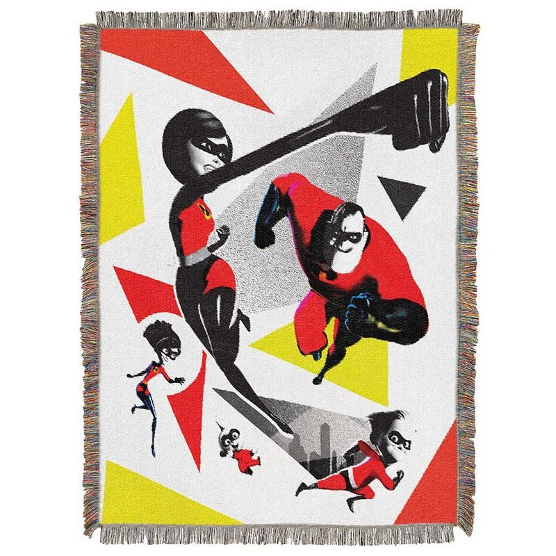 incredibles 2 blanket Incredibles 2 Lands in Fandango's FanShop!