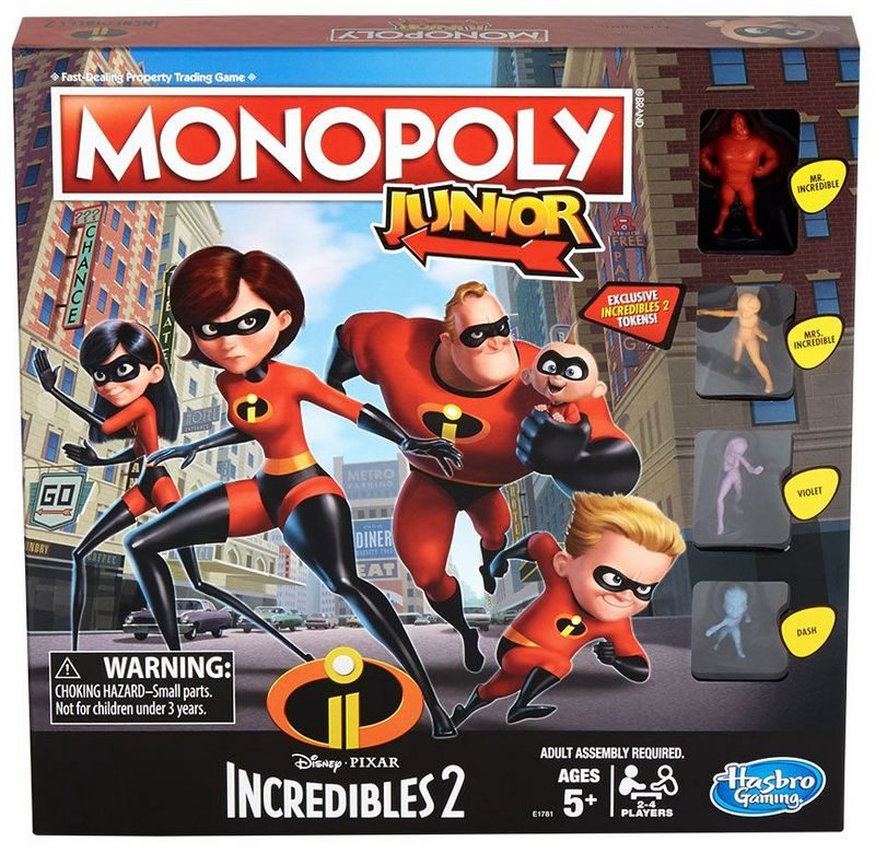 incredibles 2 monopoloy jr Incredibles 2 Lands in Fandango's FanShop!