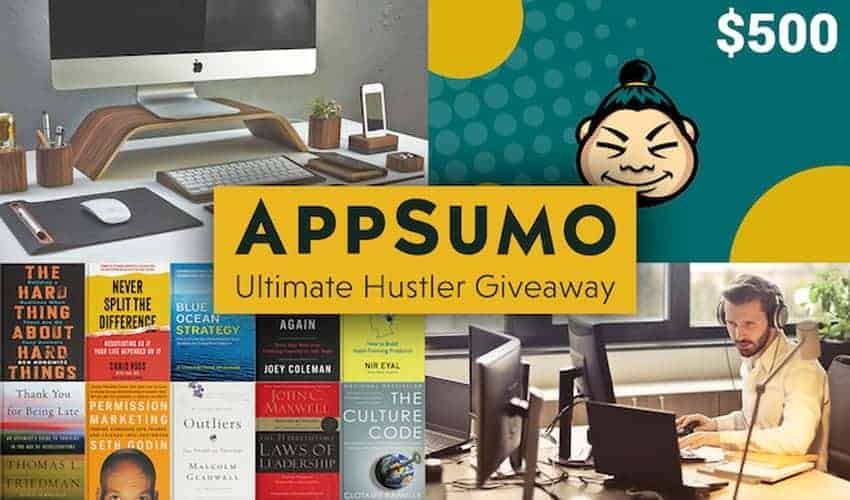 Don't Miss the AppSumo Ultimate Hustler Giveaway!