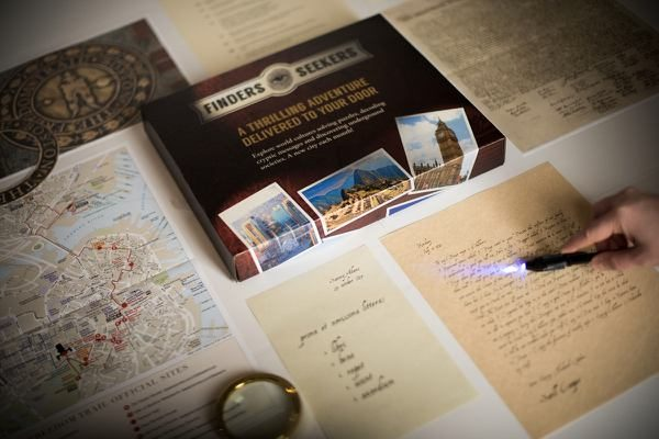 Finders Seekers is perfect for your favorite amateur sleuth or armchair traveler.