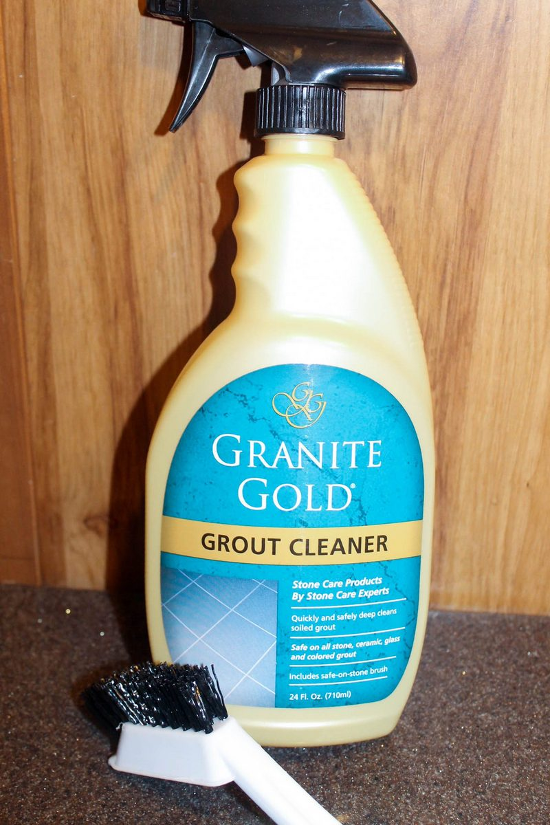 Granite Gold Grout Cleaner Review 2 of 8 How to Keep Your Grout as Gorgeous as Your Granite
