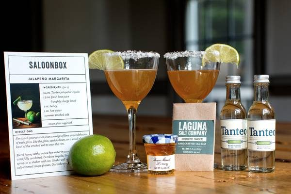 The SaloonBox is a great gift idea for the mixologist in your life.