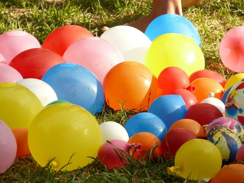 Water Balloons 5 Fun Things to Do with Teens in Your Own Backyard