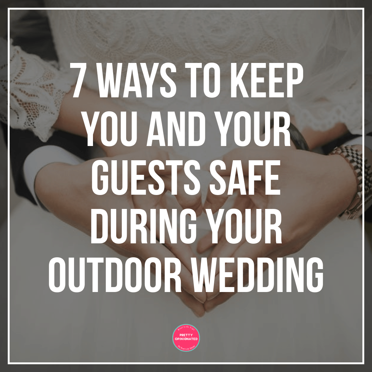 Here are some things you can do to keep you and your wedding guests safe from the dangers that lurk outside in the summer heat.