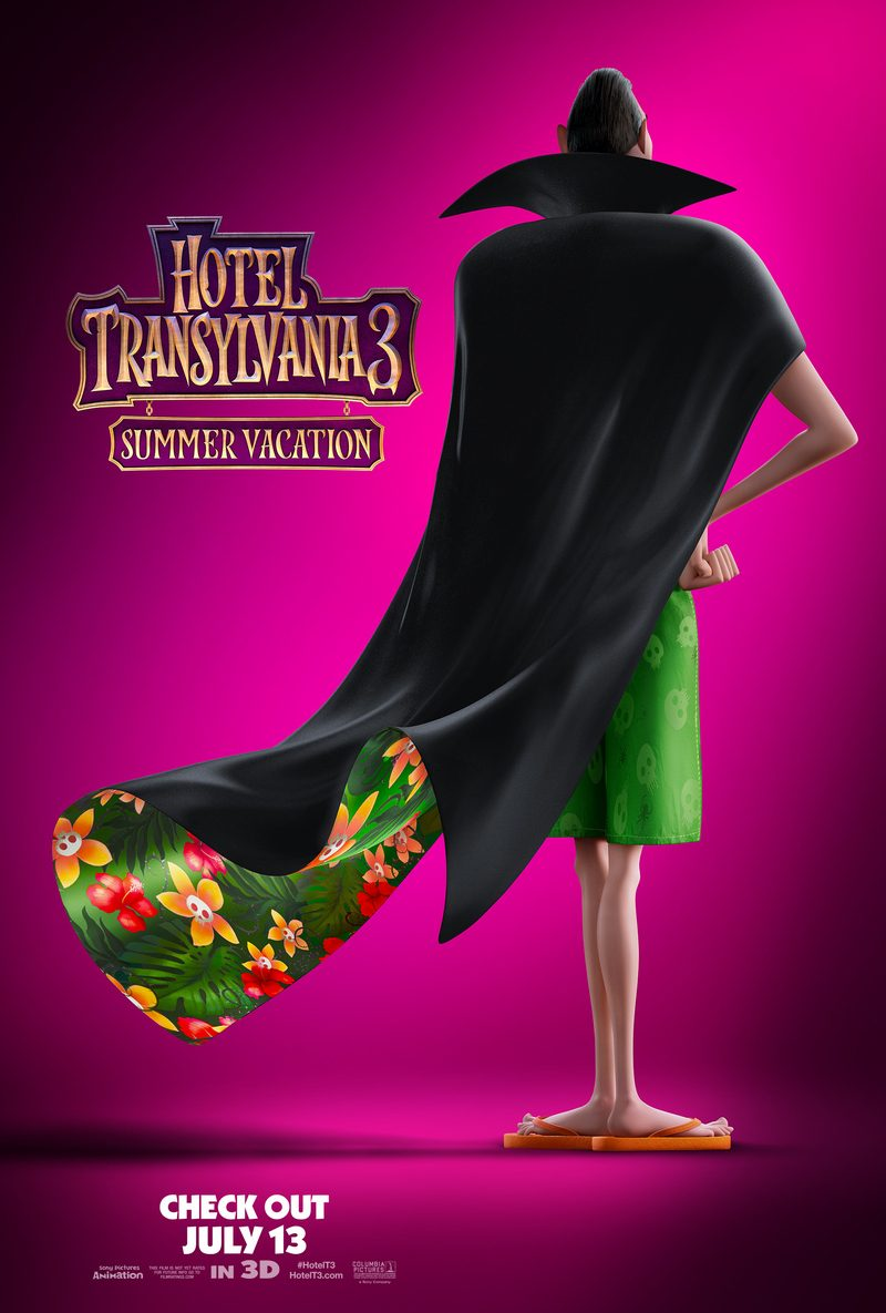 hotel transylvania 3 movie poster Hotel Transylvania 3: Summer Vacation Activity Sheets + How to Save $5 Off Your Ticket!