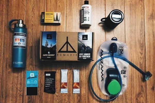 Nomadik subscription box