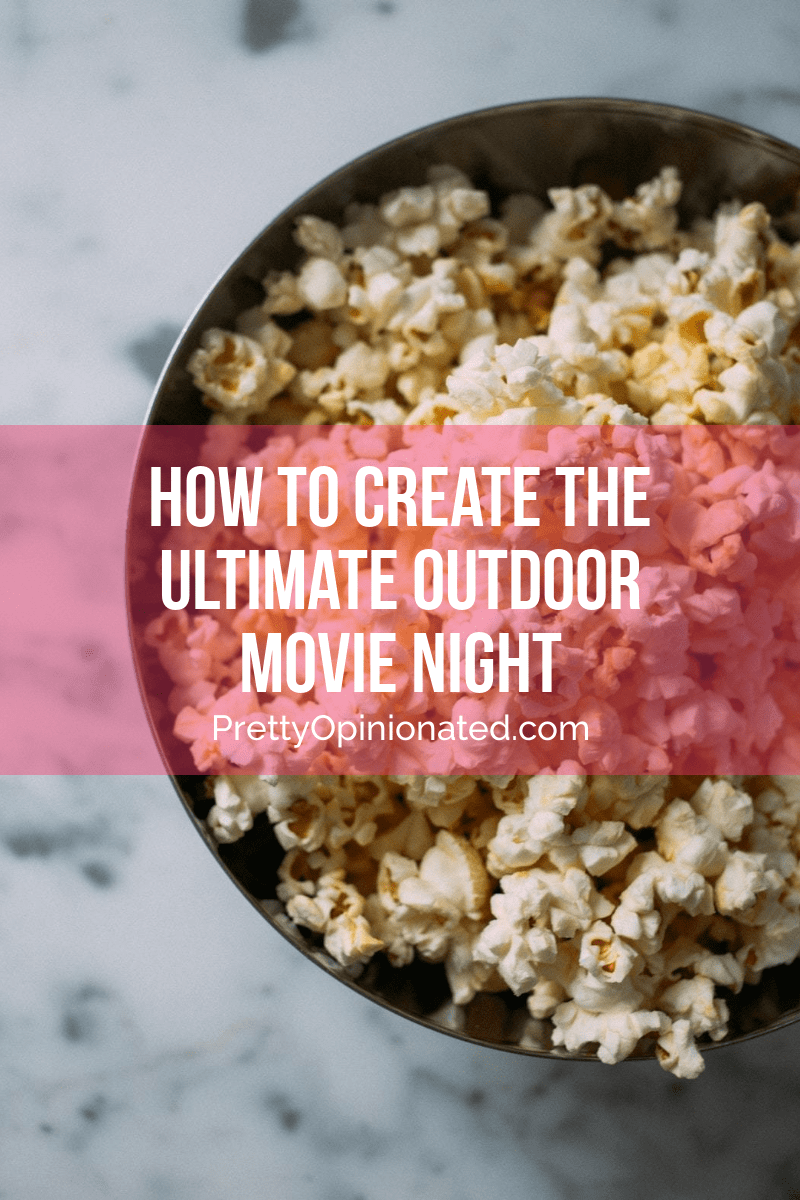 Make memories with your family this summer by creating the ultimate outdoor movie night! Now is the perfect time, since the nights are starting to get a little cooler. Erika, a writer for Redbox, is here to tell you how!