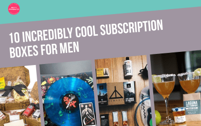 10 Incredibly Cool Subscription Boxes for Men