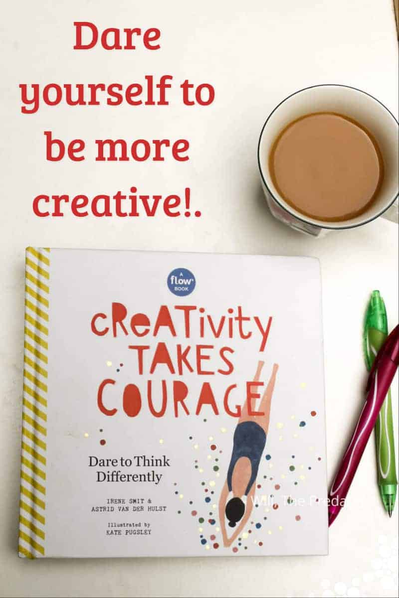 Learn how to start expressing yourself FOR yourself again with Creativity Takes Courage, a stunning new book from Flow Magazine that's full of