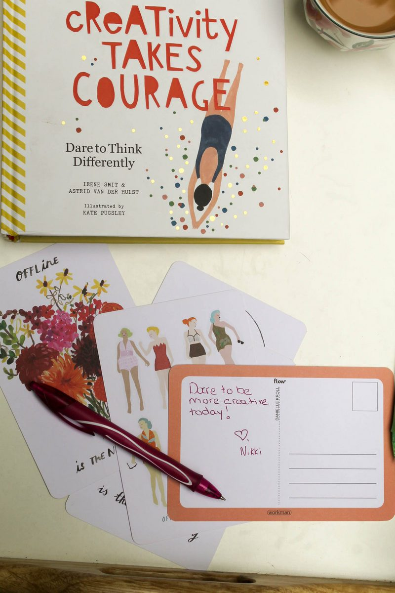 Creativity Takes Courage Book Review 14 of 16 Dare Yourself to be More Expressive with Creativity Takes Courage