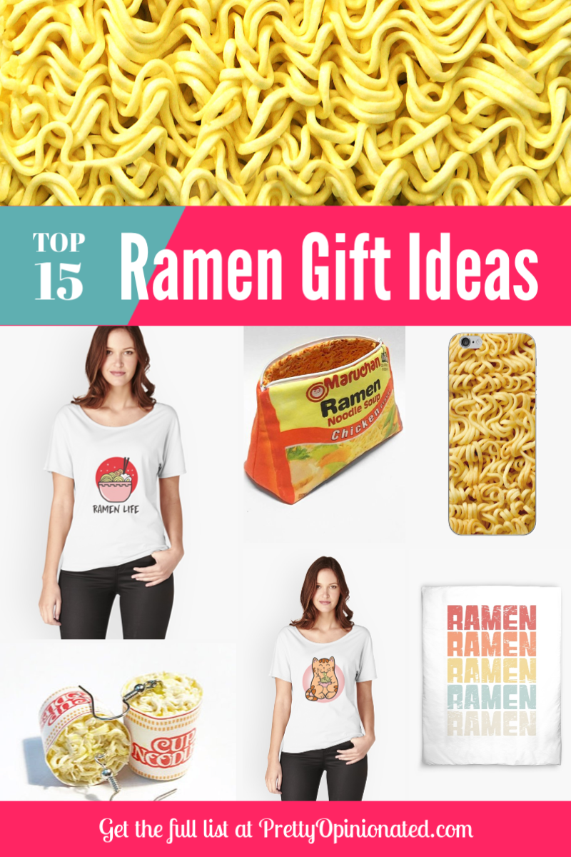 Got a ramen-loving, anime-addicted teen in your life? You have to check out these 15 hilarious ramen-themed gift ideas!