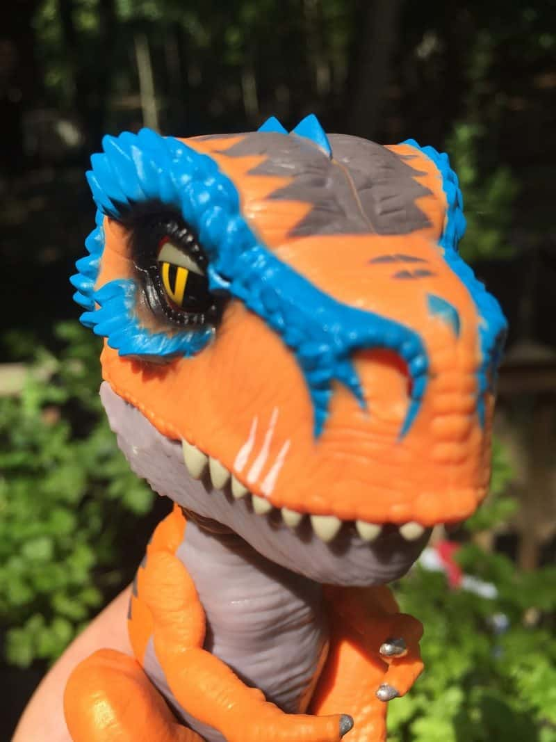 Untamed Rex Selfie Check Out WowWee's NEW Untamed T-Rex Dinosaur Fingerling! #FerociousFriday