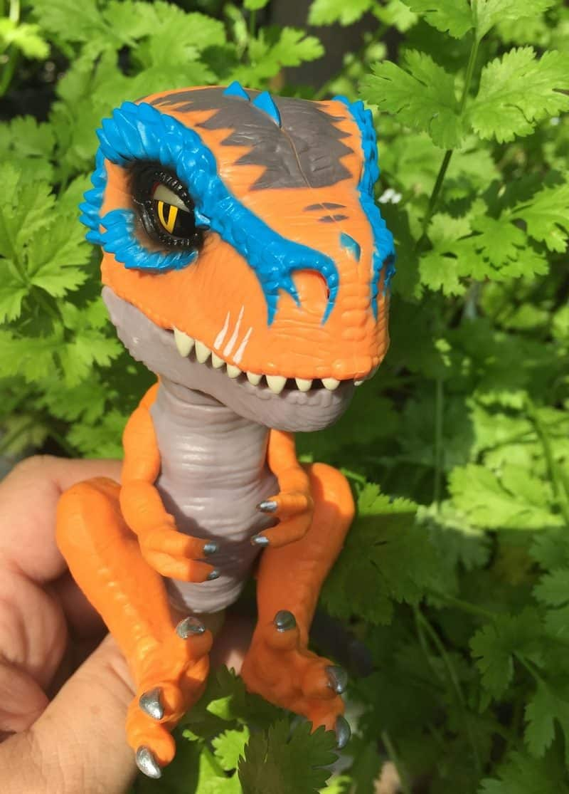 Untamed Rex in the wild Check Out WowWee's NEW Untamed T-Rex Dinosaur Fingerling! #FerociousFriday