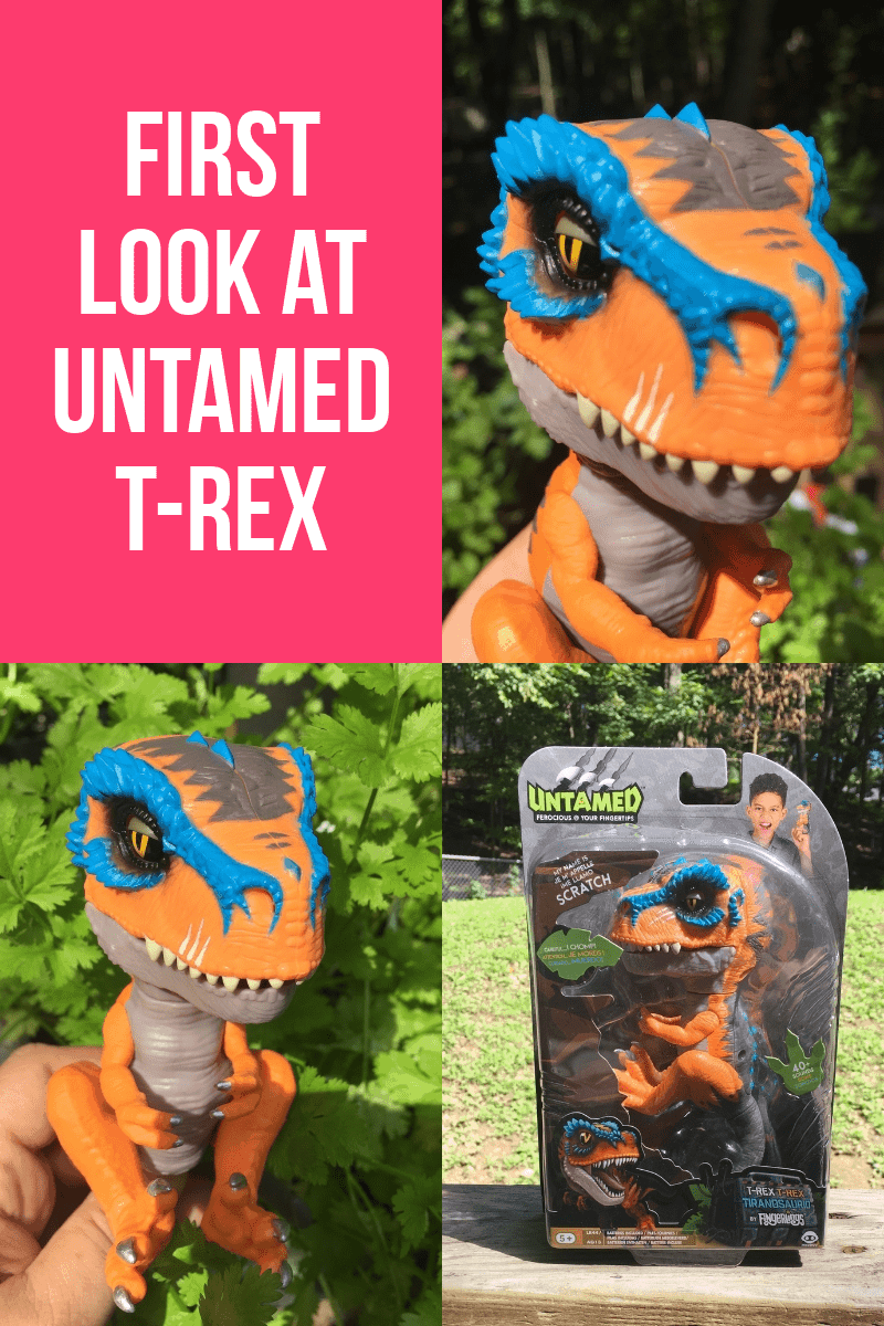 Get ready to tame the untamable! WowWee launched a brand new member of the Fingerlings Untamed series that's perfect for T-Rex fans! Check out a first look at Untamed T-Rex! Talk about Ferocious at Your Fingertips!