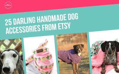 25 Cute Handmade Dog Beds, Toys, Treats & More from Etsy
